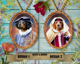 Brittany Spaniel Jewelry Handmade Gifts by Nobility Dogs