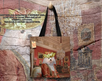 Tote Bag  Bolognese by Nobility Dogs Arts