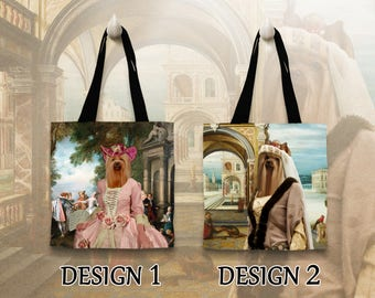 Yorkshire Terrier Tote Bag   by Nobility Dogs Arts