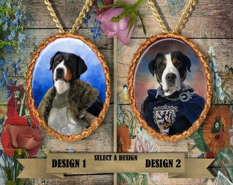 Greater Swiss Mountain Dog Jewelry Handmade Gifts by Nobility Dogs