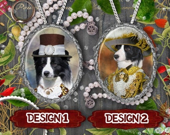 Border Collie Jewelry Handmade Gifts by Nobility Dogs