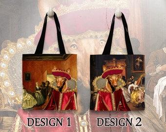 Pharaoh Hound Tote Bag. Pharaoh Hound Bag. Pharaoh Hound Portrait. Personalized Dog Tote Bag. Custom Dog Portrait