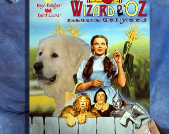 Great Pyrenees Art The Wizard of Oz