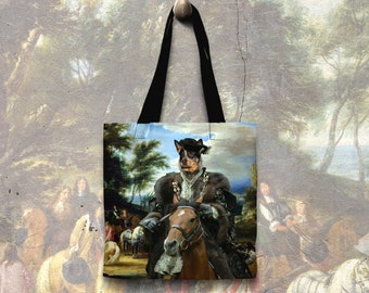 Australian Cattle Dog Art Tote Bag    by Nobility Dogs Arts