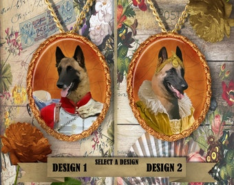 Belgian Malinois Jewelry Handmade Gifts by Nobility Dogs