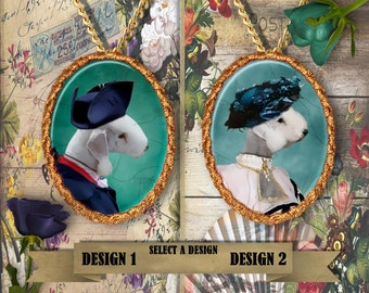 Bedlington Terrier Jewelry Handmade Gifts by Nobility Dogs