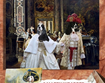Cocker Spaniel Art Canvas Print Dog Lover Gifts By Nobility Dogs