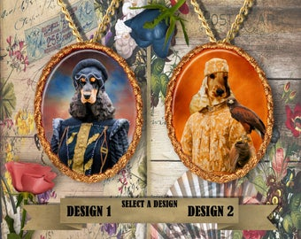 English Cocker Spaniel Jewelry Pendant Handmade Gifts by Nobility Dogs