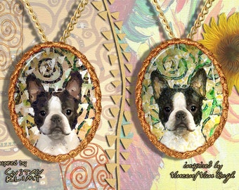 Boston Terrier Jewelry Pendant by Nobility Dogs
