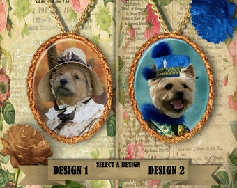 Norwich Terrier Jewelry, Personalized Pet Gifts, Custom Dog Pendant by Nobility Dogs