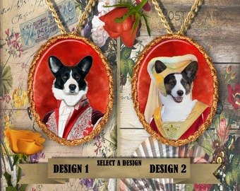 Welsh Corgi Jewelry Handmade Gifts by Nobility Dogs