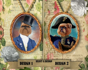 Brussels Griffon Jewelry Handmade Gifts by Nobility Dogs