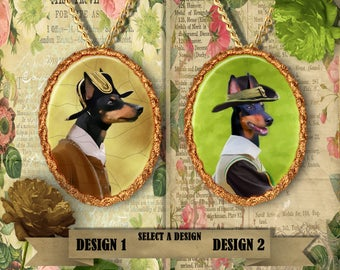 English Toy Terrier Jewelry Handmade Gifts by Nobility Dogs
