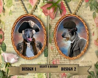 Scottish Deerhound Jewelry Handmade Gifts by Nobility Dogs