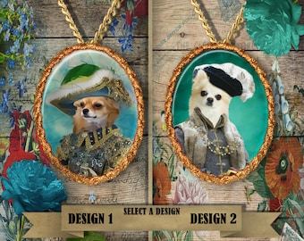 Chihuahua Handmade Pendant By Nobility Dogs
