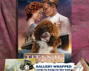 Portuguese Water Dog Art Titanic
