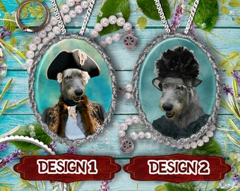 Irish Wolfhound Jewelry Handmade Gifts by Nobility Dogs