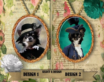 Chihuahua Jewelry Handmade Pendant By Nobility Dogs