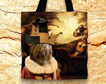 Schapendoes Tote Bag   by Nobility Dogs Arts
