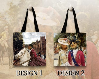 Welsh Terrier Tote Bag   Personalized Tote Bag  by Nobility Dogs Arts