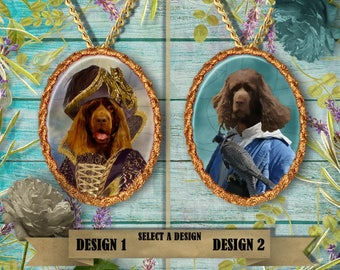 Sussex Spaniel Jewelry Pendant Nobility Dogs