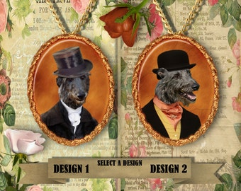 Scottish Deerhound Jewelry Handmade Gifts by Nobility Dogs