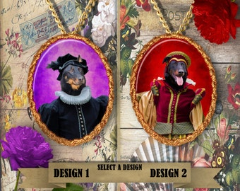 Beauceron Jewelry Pendant Handmade Gifts by Nobility Dogs