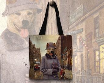 Australian Cattle Dog Art Tote Bag   Perfect DOG LOVER Gift for Her Gift for Him