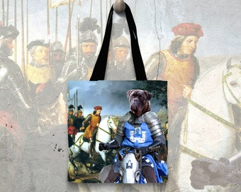 Bullmastiff Tote Bag   by Nobility Dogs Arts