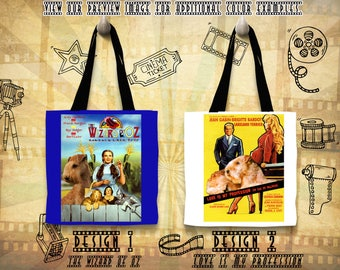 Lakeland Terrier Tote Bag/Lakeland Terrier Portrait/Terrier Art/Custom Dog Portrait/Movie Poster/The Wizard of Oz/Love Is My Profession