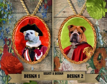 English Bulldog Jewelry Handmade Gifts by Nobility Dogs