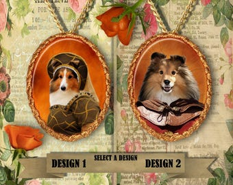 Shetland Sheepdog Jewelry Handmade Gifts by Nobility Dogs