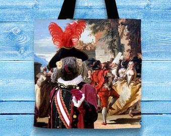 Komondor Art Tote Bag  by Nobility Dogs Arts