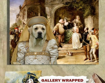 Labrador Retriever Art Canvas Print Dog Lover  Gifts by Nobility Dogs
