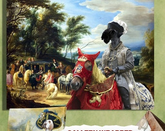 Cesky Terrier Art Canvas Print Dog Lover  Gifts by Nobility Dogs