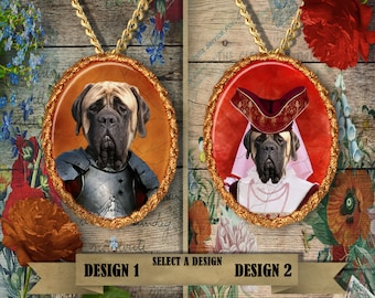 English Mastiff Jewelry Handmade Gifts by Nobility Dogs