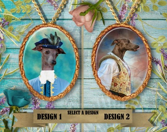 Italian Greyhound Jewelry Handmade Gifts by Nobility Dogs