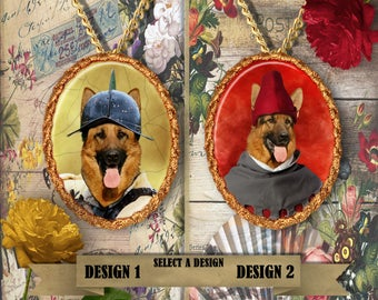 German Shepherd Jewelry Handmade Gifts by Nobility Dogs