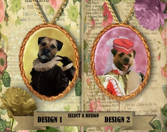 Border Terrier Jewelry Handmade Gifts by Nobility Dogs