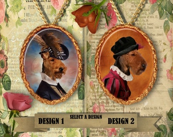 Welsh Terrier Jewelry Handmade Gifts by Nobility Dogs