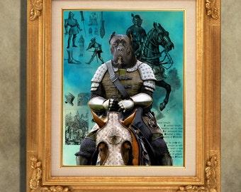 Cane Corso Print Art Print 11 x 14 inch original illustration artwork giclee archival premium poster print