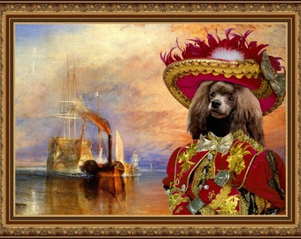 Poodle Art Print  by Nobility Dogs