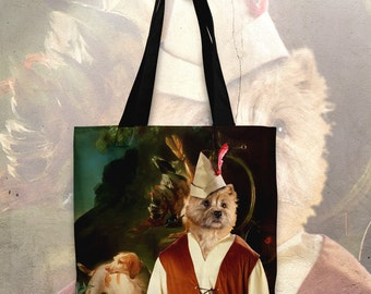 Cairn Terrier Art Tote Bag   Perfect DOG LOVER Gift for Her Gift for Him