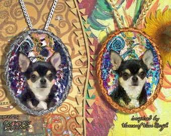 Chihuahua Smooth Coated Jewelry Pendant