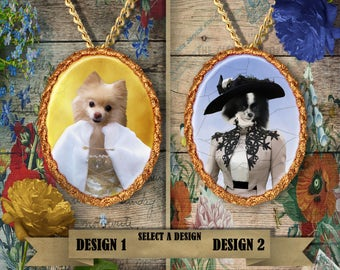Spitz Dog Jewelry Handmade Gifts by Nobility Dogs