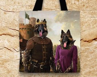 Belgian Tervuren Art Tote Bag  by Nobility Dogs Arts