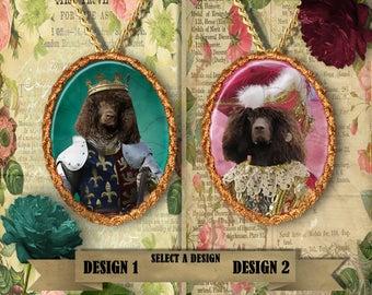 Irish Water Spaniel Jewelry Handmade Gifts by Nobility Dogs