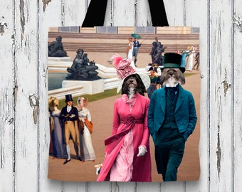 Havanese Art Tote Bag    by Nobility Dogs Arts