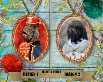 Barbet Dog Jewelry Handmade Gifts by Nobility Dogs