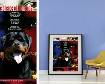 Rottweiler Art The Silence of the Lambs Movie Poster